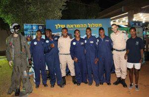 שילוב עם חיל האוויר בכפר הנוער בן יקיר